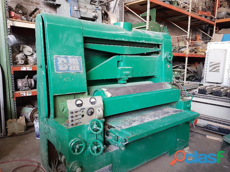 Calibradora Lijadora 132 cm 2 Grupos Bogesunds Maskiner