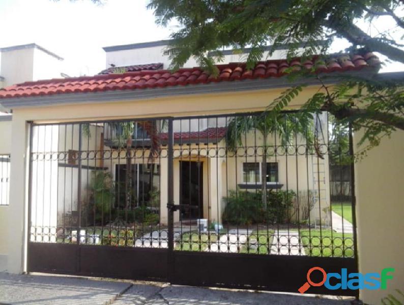 Rento casa amueblada puerta real el country, centro, tabasco