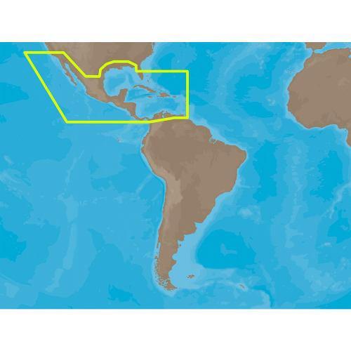C -map max n / a -m027 - américa central y la caribe - c -