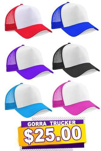 Gorra para sublimar trucker excelente calidad b8454c1b854