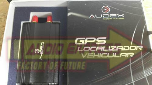 Gps localizador audex con relay para corte de motor