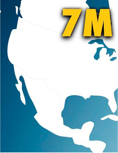 Mapas 7m rns-510 mexico usa canada vw garantizado