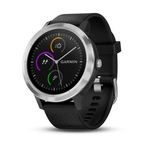 Reloj gps garmin multisport vivoactive 3 negro/acero