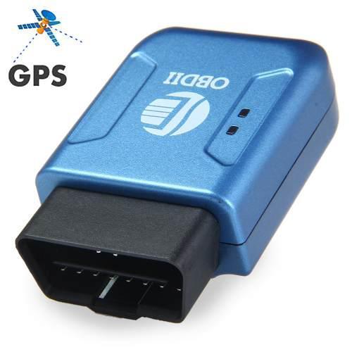 Tk206 coche obdii interfaz gps gprs rastreador con función
