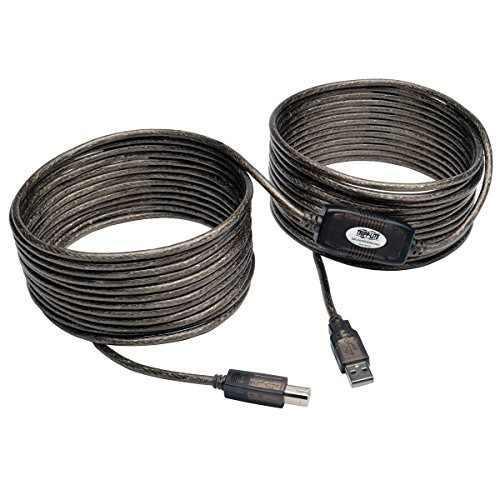 Tripp lite usb 2.0 hi-speed ¿¿a b cable de repetidor a