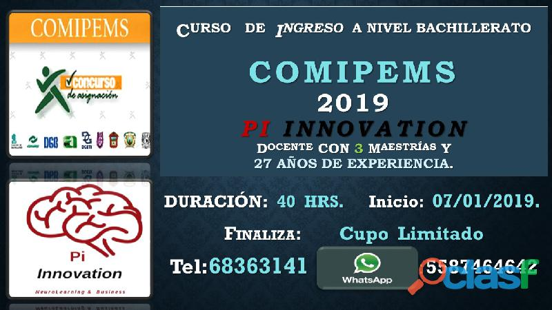 Comipems pi 2019 enero
