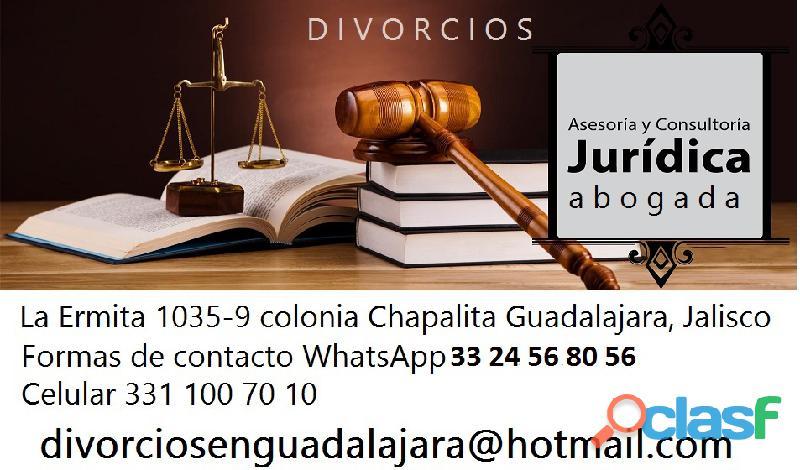 Abogada en materia familiar |guadalajara divorcios rápidos