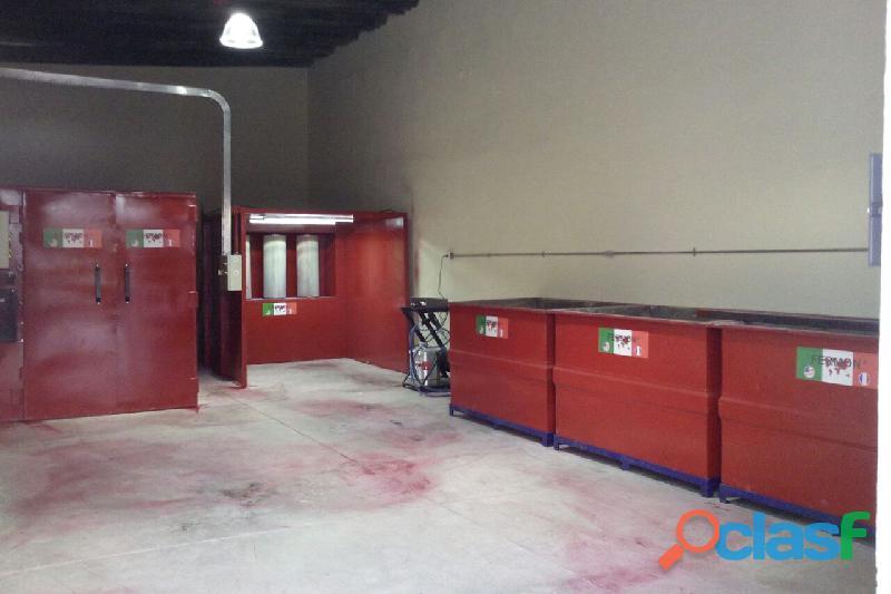 Fabrica de hornos y cabinas para pintura