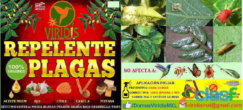 Repelente de plagas orgánico altamente efectivo