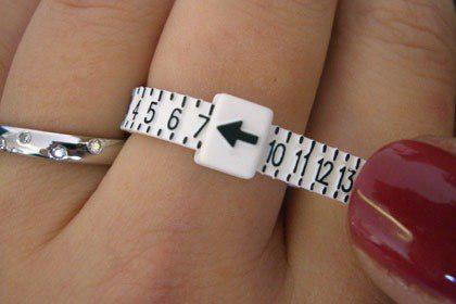 Como puedo saber que medida soy de anillo??? fácil y