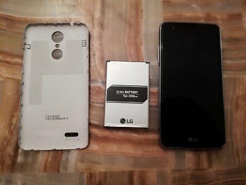 Telefono celular smartphone lg x230h o k4 para refacciones