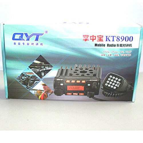 2 radios qyt kt-8900 radio móvil dualbanda