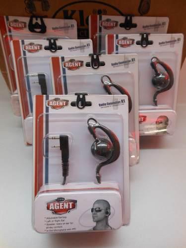 Auricular y microfono, diadema, radios kenwood. conector k1