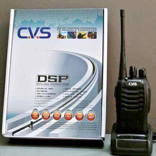 Cv radio de dos vías 400-470 mhz walkie talkie