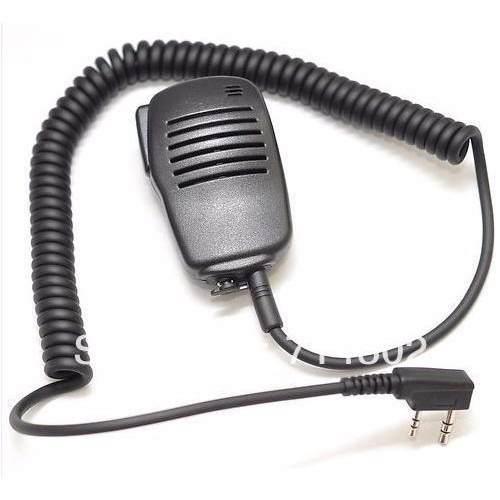 Microfono baofeng kenwod solapa radios dos vias uv5 uv82