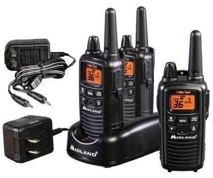 Midland lxt600 vp3 (lxt 633) kit de 3 radios