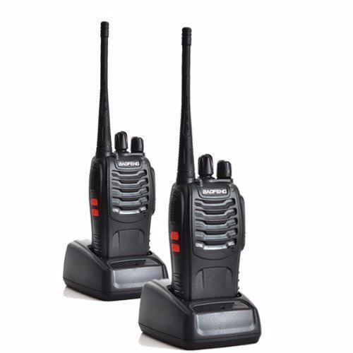 Radio baofeng bf-888s 2-pack analógico portatil walkie uhf
