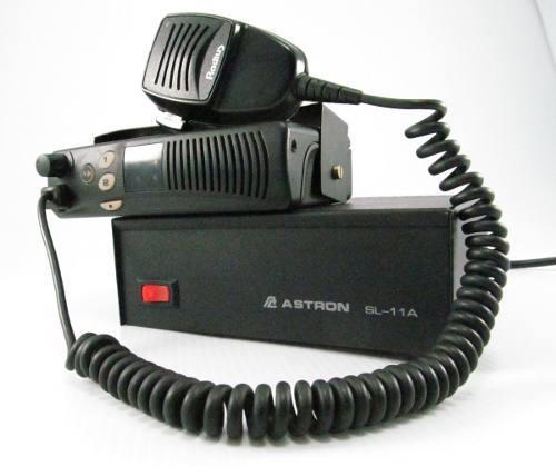 Radio motorola vhf sm50 fuente astron cable antena tubo new