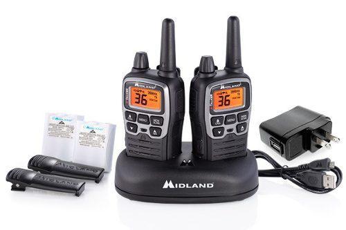 Radios midland t71vp3 x-talker 60km* 38mi 36 canales 121cod