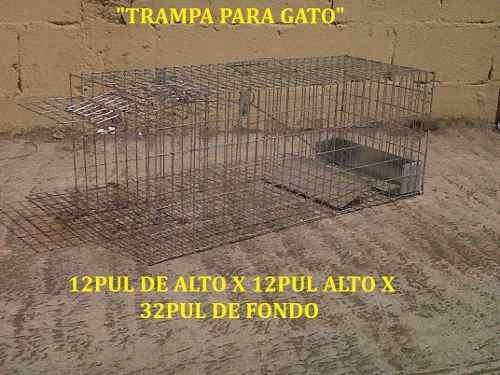 Trampa jaula para gato animales