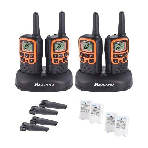 Walkie talkie radios de dos vías midland t51vp3 plus