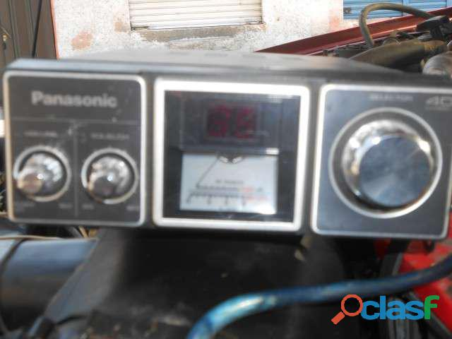 Radio panasonic banda civil