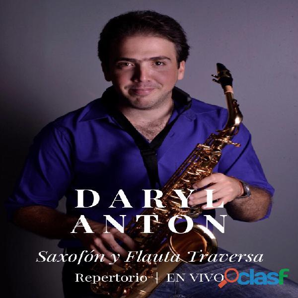 Saxofonista para eventos y bodas en mexico cdmx daryl anton cubano