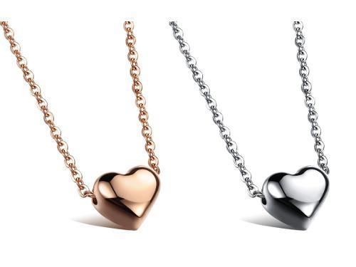 1797d0ad1f74 Collar día de las madres corazón titanio + precio de