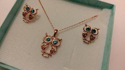 f18e451f0089 Collar aretes cristales   REBAJAS Junio