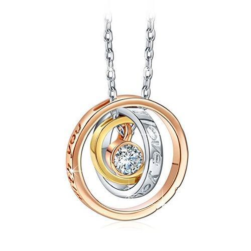 ffe0c215751a Collares Laminado Oro Rosa Plata Joyeria Swarovski Elements