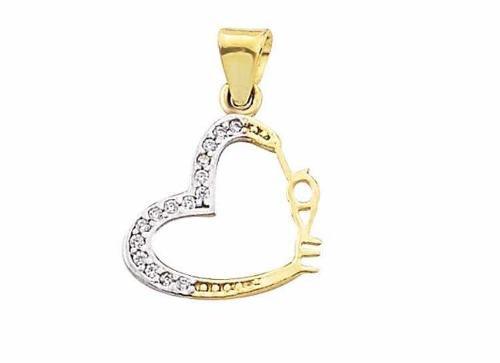 3e5c663764f1 Dije corazón love oro 10 k + obsequio + envío
