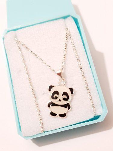 Dije de oso panda de plata 925 de 1.5 cm cd16 envio gratis