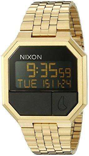 a4645ae1f892 Nixon re-run a158502-00. mens digital gold watch (38.5mm