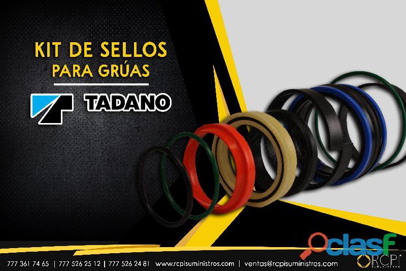 Kit de sellos para grúas Tadano
