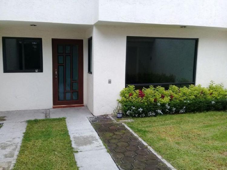 Rento casa xochimilco muyuguarda