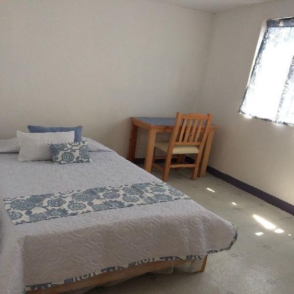 Rento habitaciones amuebladas para mujeres al sur de cdmx,