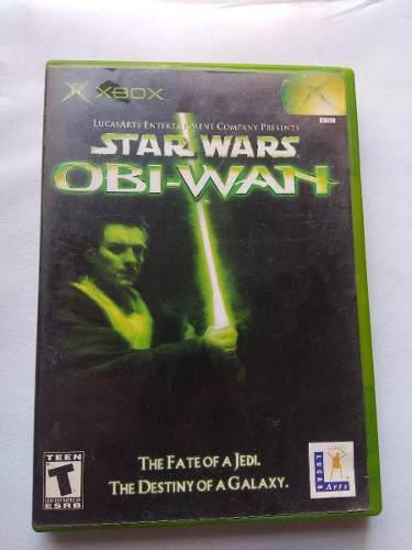 Star wars obi wan xbox clasico