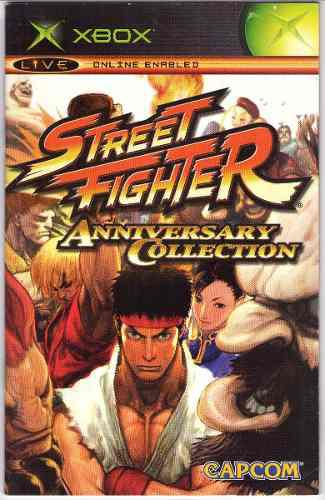 Street fighter anniversary collection xbox solamente manual