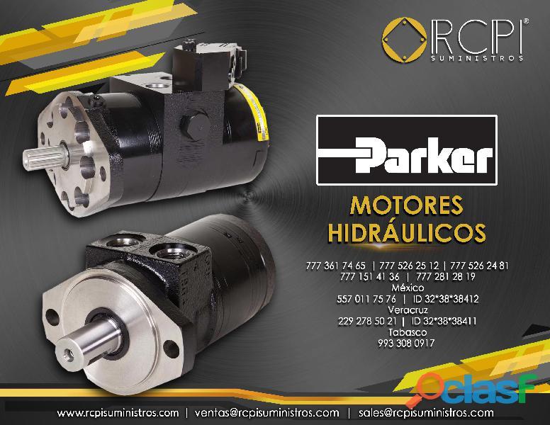 Motor hidráulico Parker para grúas industriales
