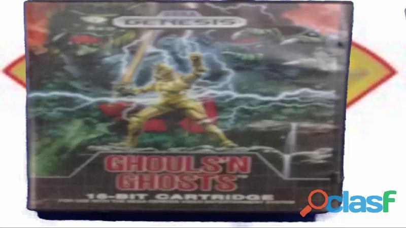 """Videojuego ghouls""""n ghosts"""