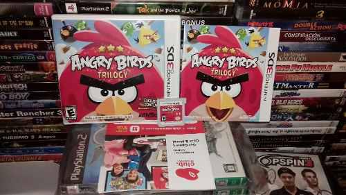 Angry birds para su nintendo 3ds,funcionando bien.