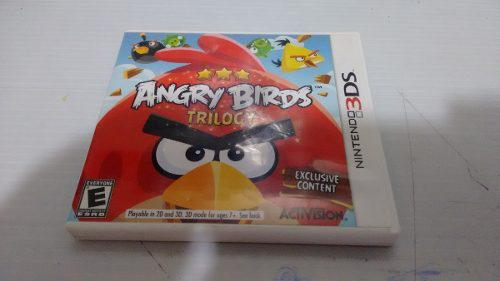 Angry birds trilogy completo nintendo 3ds,excelente titulo