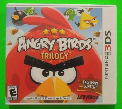 Angry birds trilogy para nintendo 3ds