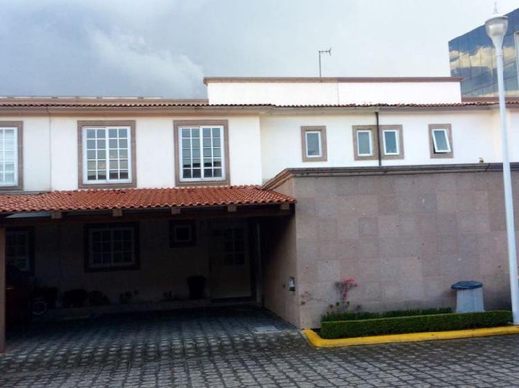 Casa en venta en la joya ii, col. llano grande, metepec