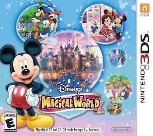 Disney magical world 3ds nuevo y sellado