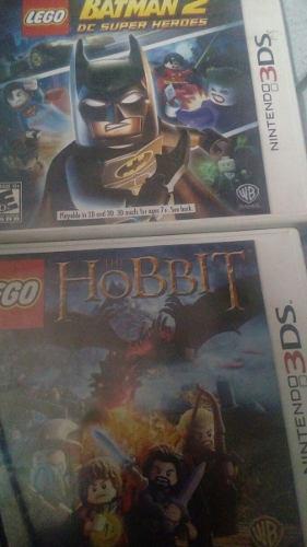 Dos juegos de 3ds lego batman + lego hobbit lee descripc