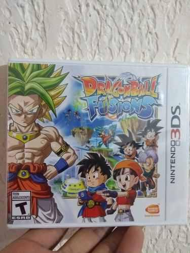 Dragon ball fusions 3ds nuevo d3 gamers