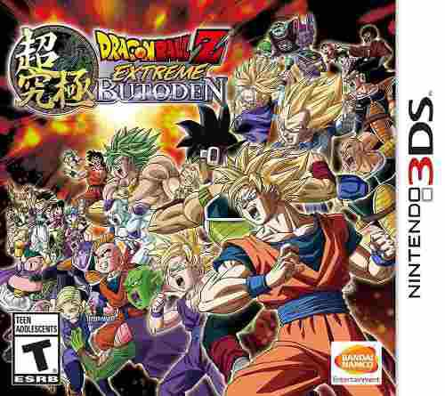 Dragon ball z: extreme butoden - nintendo 3ds pp