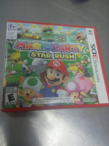 MARIO PARTY. STAR RUSH 3DS REMATO segunda mano  México (Todas las ciudades)