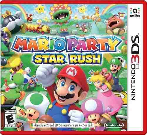 MARIO PARTY STAR RUSH::.. PARA NINTENDO 3DS segunda mano  México (Todas las ciudades)